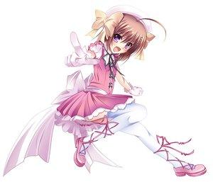 Rating: Safe Score: 39 Tags: dress haruna_(kore_wa_zombie_desu_ka?) hat kore_wa_zombie_desu_ka? pass-d thighhighs white User: HawthorneKitty