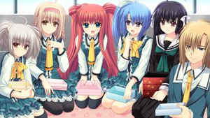 Rating: Safe Score: 9 Tags: game_cg group hananomiya_ako kona_nako munemoto_tsubakiko nishimata_aoi seifuku sekai_seifuku_kanojo tagme_(character) touno_sakurako yamino_yumeko User: oranganeh