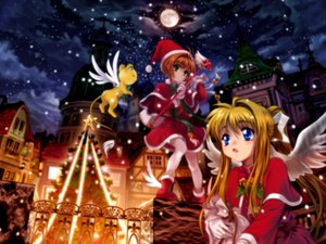 Rating: Safe Score: 9 Tags: air card_captor_sakura kamio_misuzu kerberos kinomoto_sakura User: 秀悟