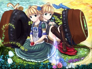 Rating: Questionable Score: 43 Tags: blonde_hair headphones loli roddo tagme User: gnarf1975