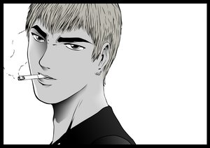 Rating: Safe Score: 27 Tags: eikichi_onizuka great_teacher_onizuka male monochrome User: Mix-Mix