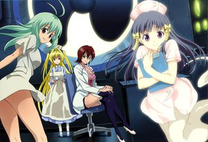 Rating: Questionable Score: 48 Tags: golden_darkness mikado_ryouko murasame_oshizu run_elsie_jewelria scan to_love_ru User: gnarf1975