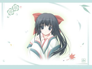 Rating: Safe Score: 11 Tags: black_hair japanese_clothes nagomi tenmu_shinryuusai white User: Oyashiro-sama