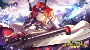 Rating: Safe Score: 37 Tags: aliasing armor_blitz blue_eyes cape clouds cross gloves headdress horns logo loki_(armor_blitz) long_hair red_hair sky squadra weapon User: luckyluna