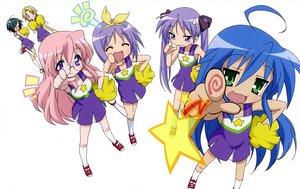 Rating: Safe Score: 21 Tags: cheerleader hiiragi_kagami hiiragi_tsukasa izumi_konata kuroi_nanako lucky_star narumi_yui scan takara_miyuki takemoto_yasuhiro white User: Xtea
