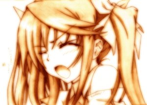 Rating: Safe Score: 17 Tags: godees huang_lingyin infinite_stratos long_hair monochrome twintails User: SciFi