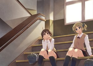 Rating: Safe Score: 52 Tags: original school_uniform soine tagme User: opai