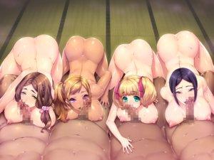 Rating: Explicit Score: 64 Tags: ass breasts censored fellatio game_cg group hitomi_kiriko nishiki_marina nude orc_soft penis sakura_rui shikijou_kyoudan sumeragi_kohaku yoshino_ayaka User: FormX