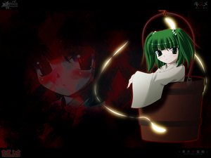 Rating: Safe Score: 14 Tags: kisume side_b touhou User: 秀悟