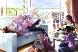 Rating: Safe Score: 132 Tags: accelerator bandage black_eyes black_hair blue_eyes brown_hair choker couch dara drink flowers group last_order loli long_hair misaka_worst pink_eyes ponytail short_hair sleeping to_aru_kagaku_no_railgun to_aru_majutsu_no_index white_hair yomikawa_aiho yoshikawa_kikyou User: C4R10Z123GT