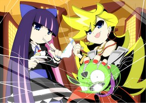 Rating: Safe Score: 41 Tags: chuck panty_&_stocking_with_garterbelt panty_(character) stocking_(character) User: HawthorneKitty