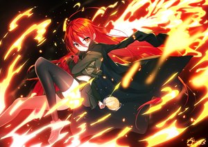 Rating: Safe Score: 46 Tags: bai_yemeng shakugan_no_shana shana signed User: sadodere-chan