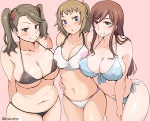 Rating: Questionable Score: 127 Tags: arakure bikini blush breasts cleavage erect_nipples gundam_build_fighters gundam_(series) hoshino_fumina kamiki_mirai mobile_suit_gundam navel sazaki_kaoruko signed swimsuit User: FormX