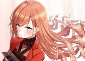Rating: Safe Score: 45 Tags: aqua_eyes arisugawa_natsuha brown_hair harukana_(harukana_10) idolmaster idolmaster_shiny_colors long_hair valentine User: RyuZU