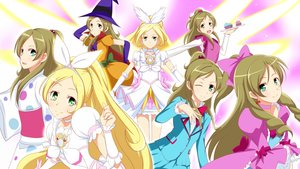 Rating: Safe Score: 0 Tags: blonde_hair bow braids brown_hair cake elbow_gloves food gloves green_eyes hat jabara_tornado japanese_clothes long_hair minamino_kanade ponytail precure seifuku skirt smile_precure! tagme_(character) witch_hat User: RyuZU