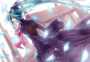 Rating: Safe Score: 9 Tags: hatsune_miku vocaloid User: Oyashiro-sama