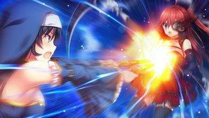 Rating: Safe Score: 12 Tags: 2girls game_cg kamishiro_aoi_(kyuuketsu_hime_no_libra) kyuuketsu_hime_no_libra lycoris_radiata miyasu_risa onomatope* tagme User: luckyluna