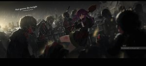 Rating: Safe Score: 180 Tags: bow ebisuzawa_kurumi gakkou_gurashi! gloves mivit night purple_eyes purple_hair rain signed skirt twintails water watermark weapon User: Flandre93