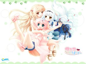 Rating: Questionable Score: 9 Tags: cuffs_(studio) wanko_to_lilly User: 秀悟