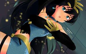 Rating: Safe Score: 91 Tags: black_hair blue_eyes ganaha_hibiki idolmaster long_hair tagme User: gnarf1975