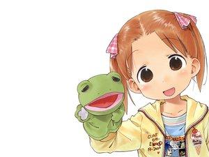 Rating: Safe Score: 3 Tags: animal doll food frog ice_cream ichigo_mashimaro matsuoka_miu puppet ribbons white User: Oyashiro-sama