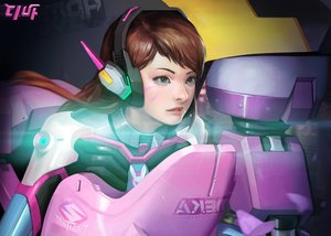 Rating: Safe Score: 25 Tags: d.va hyun_sung_oh overwatch realistic User: mattiasc02