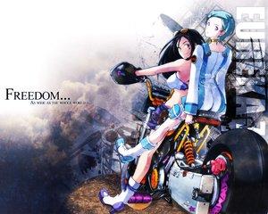 Rating: Safe Score: 6 Tags: eureka eureka_seven motorcycle talho_yuuki User: Oyashiro-sama