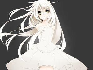 Rating: Safe Score: 170 Tags: dress green_eyes ia long_hair vocaloid white_hair yakaro_(pokapoka0802) User: FormX