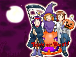 Rating: Safe Score: 3 Tags: choia futaba halloween musu pumpkin suigetsu waha yamato_suzuran User: Oyashiro-sama