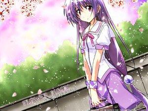 Rating: Safe Score: 0 Tags: cherry_blossoms flowers iriya_kana iriya_no_sora_ufo_no_natsu long_hair petals purple_hair red_eyes school_uniform watermark User: Oyashiro-sama