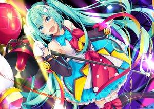 Rating: Safe Score: 44 Tags: hatsune_miku kana616 magical_mirai_(vocaloid) vocaloid watermark User: Dreista