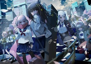 Rating: Safe Score: 86 Tags: anthropomorphism bsue g11_(girls_frontline) girls_frontline group hk416_(girls_frontline) loli m16a1_(girls_frontline) m4a1_(girls_frontline) m4_sopmod_ii_(girls_frontline) school_uniform st_ar-15_(girls_frontline) thighhighs ump-45_(girls_frontline) ump-9_(girls_frontline) User: Dreista