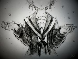 Rating: Safe Score: 77 Tags: monochrome nagato_yuki sketch snow suzumiya_haruhi_no_yuutsu User: Just.V.