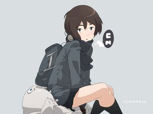 Rating: Questionable Score: 37 Tags: brown_hair cenco cencoroll headphones short_hair uki_atsuya yuki_(cencoroll) User: qashairy