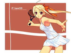 Rating: Questionable Score: 46 Tags: f-ism murakami_suigun tennis User: marion