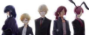 Rating: Safe Score: 52 Tags: all_male inu_x_boku_ss male omaru tagme white User: Wiresetc