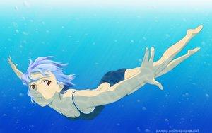 Rating: Safe Score: 19 Tags: ayanami_rei barefoot blue_hair neon_genesis_evangelion red_eyes short_hair swimsuit underwater water User: 秀悟