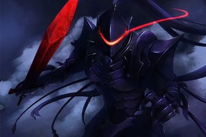 Rating: Safe Score: 240 Tags: armor fate_(series) fate/stay_night fate/zero kouno_hikaru lancelot_(fate) red_eyes sword weapon User: opai