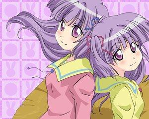 Rating: Safe Score: 10 Tags: kashiwagi_yuuma kashiwagi_yuuna pani_poni_dash twins User: Oyashiro-sama