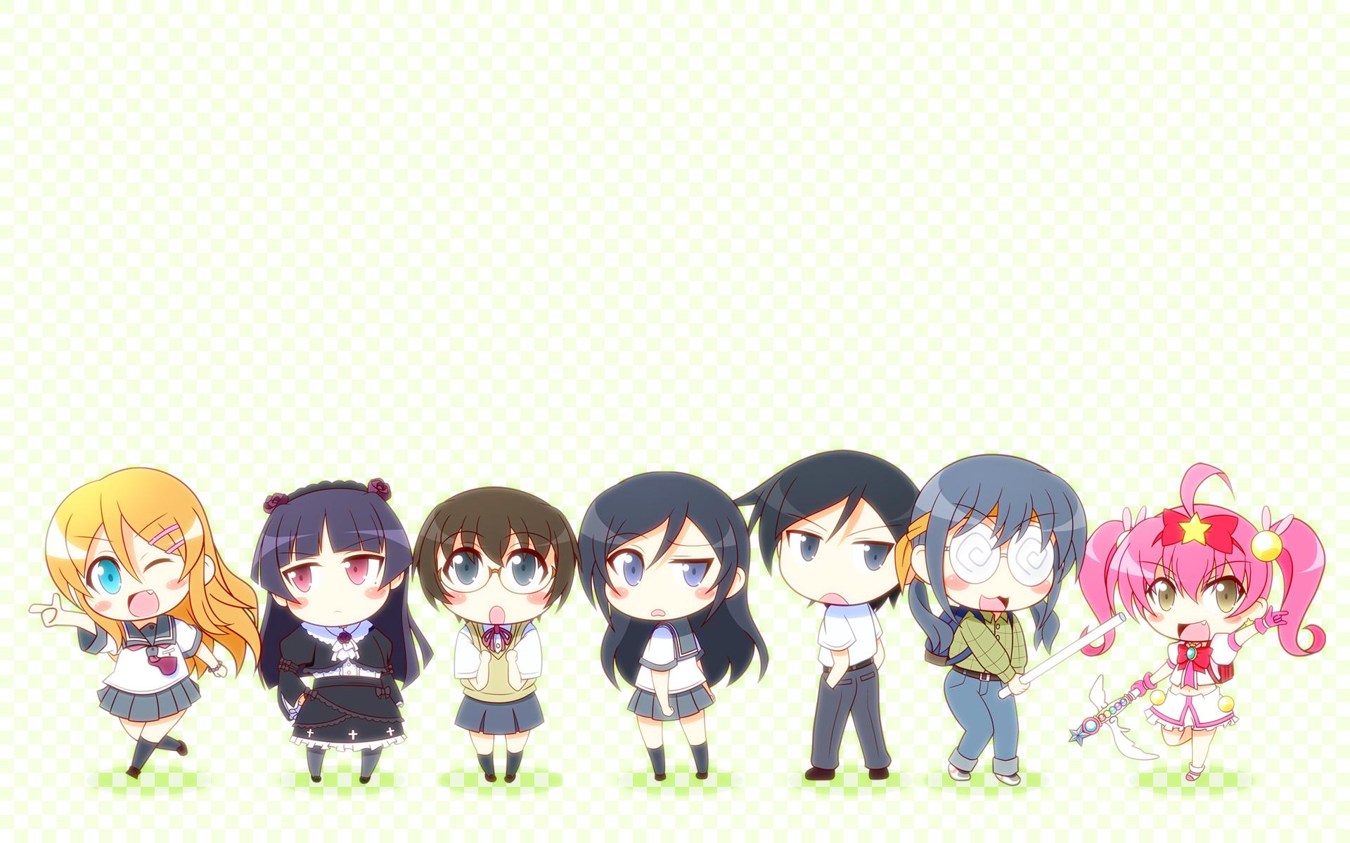 aragaki ayase chibi gokou ruri group kaleido yuki kousaka ...  aragaki ayase c...