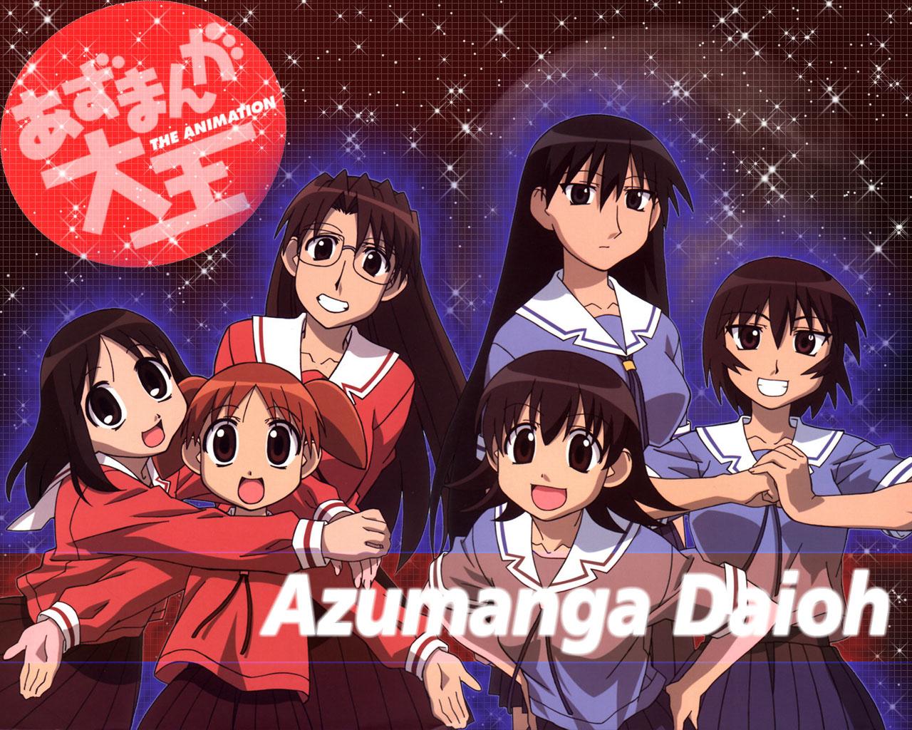 azumanga_daioh kagura kasuga_ayumu mihama_chiyo mizuhara_koyomi sakaki takino_tomo