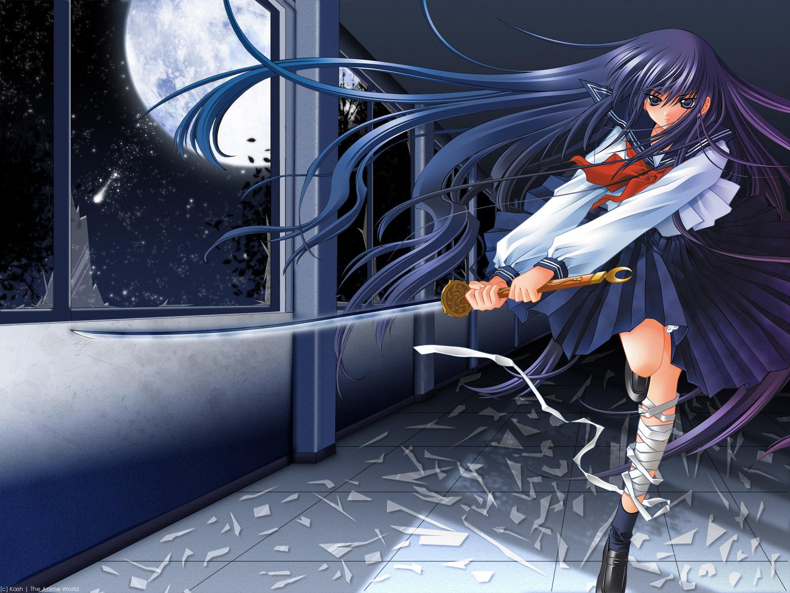 azuma_hazuki carnelian school_uniform sword weapon yami_to_boushi_to_hon_no_tabibito