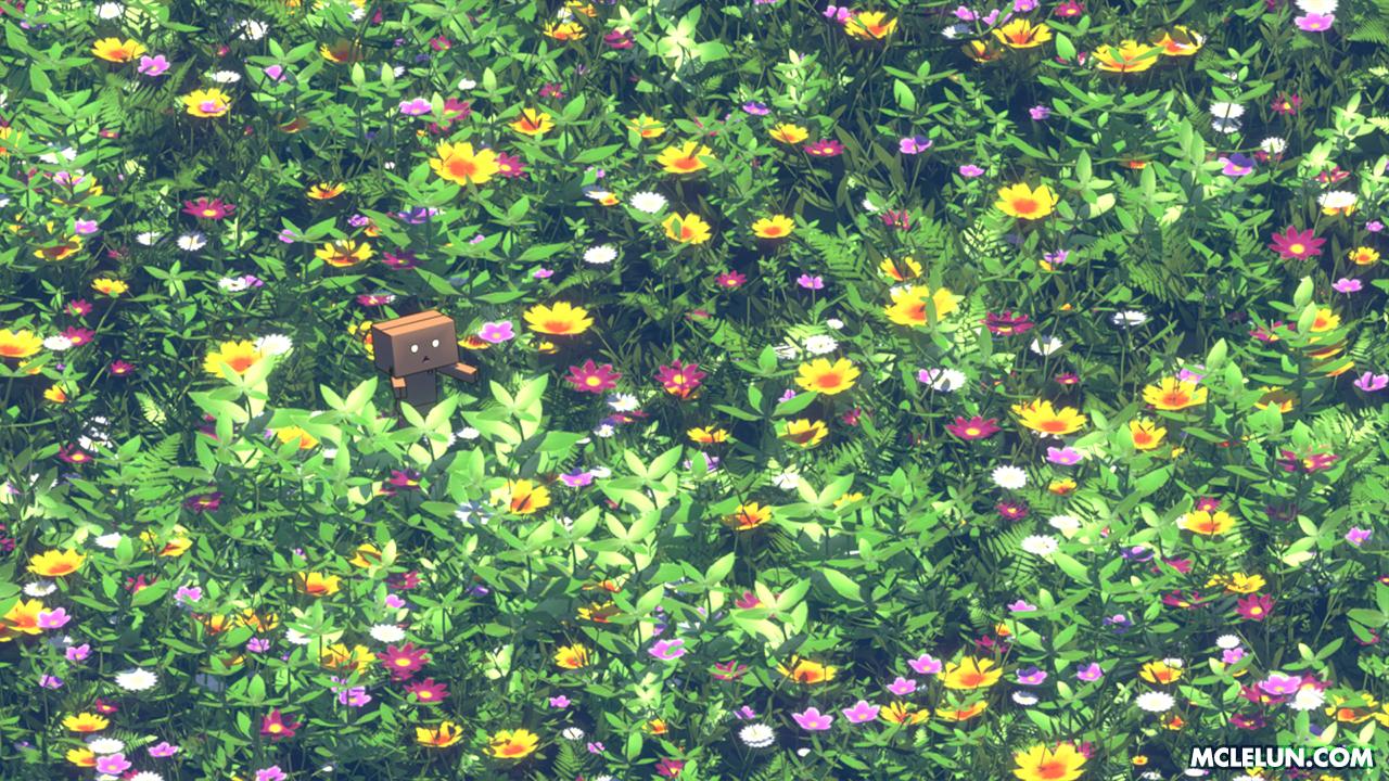 3d danboo flowers mclelun nobody original realistic scenic watermark