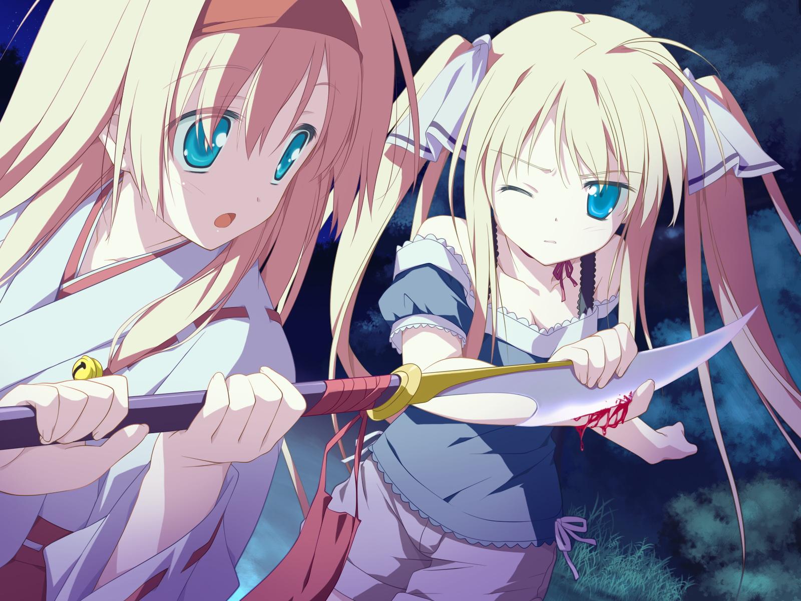 favorite game_cg hoshizora_no_memoria tagme twins