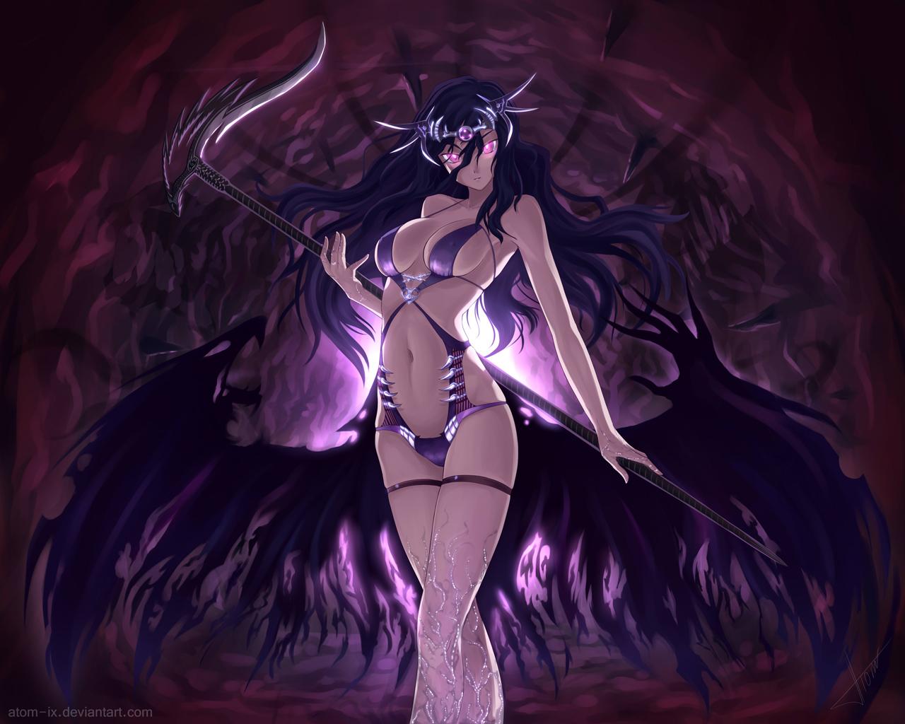аниме девушки дьяволы: