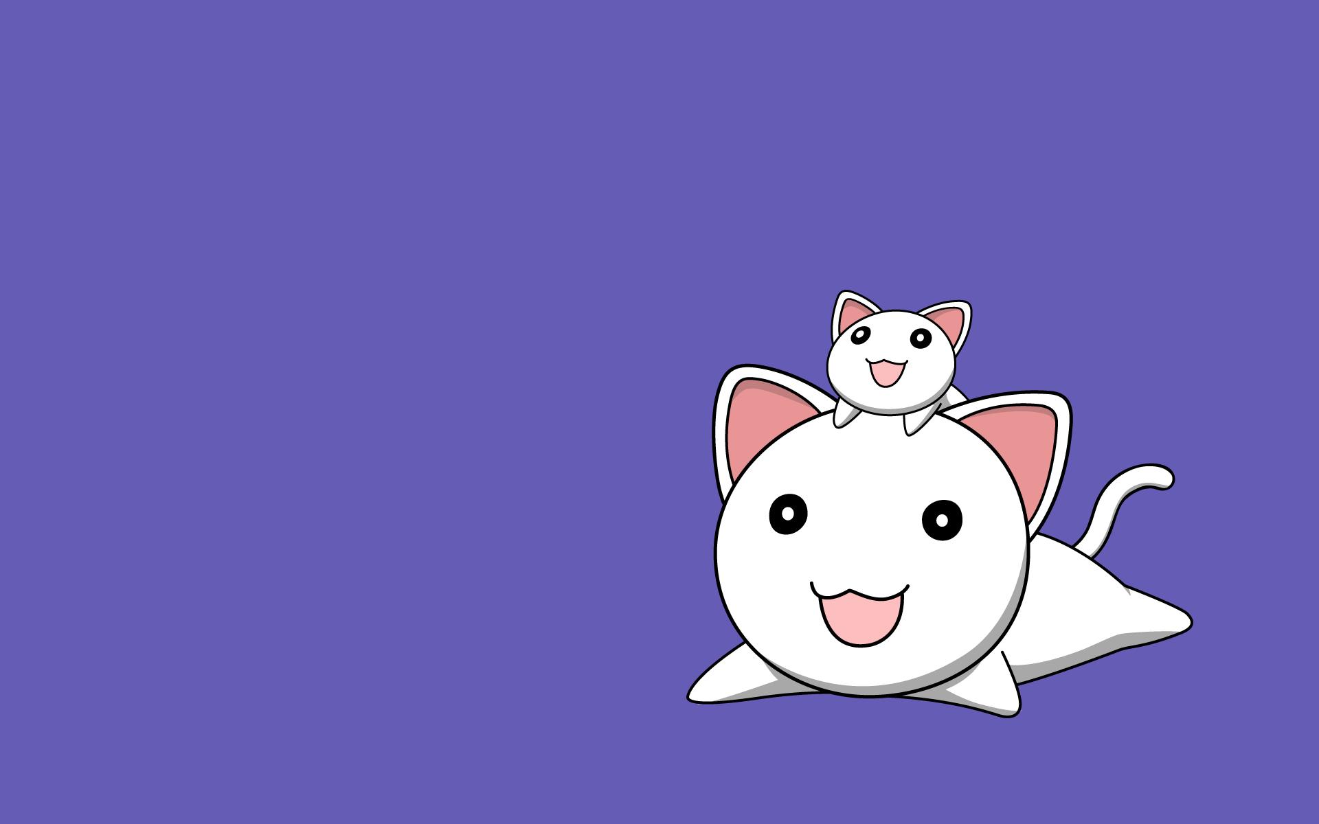 animal azumanga_daioh cat nekokoneko purple vector