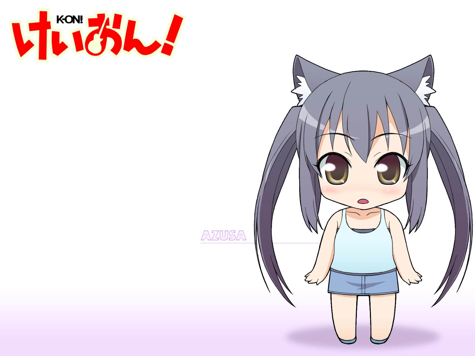 chibi k-on! nakano_azusa