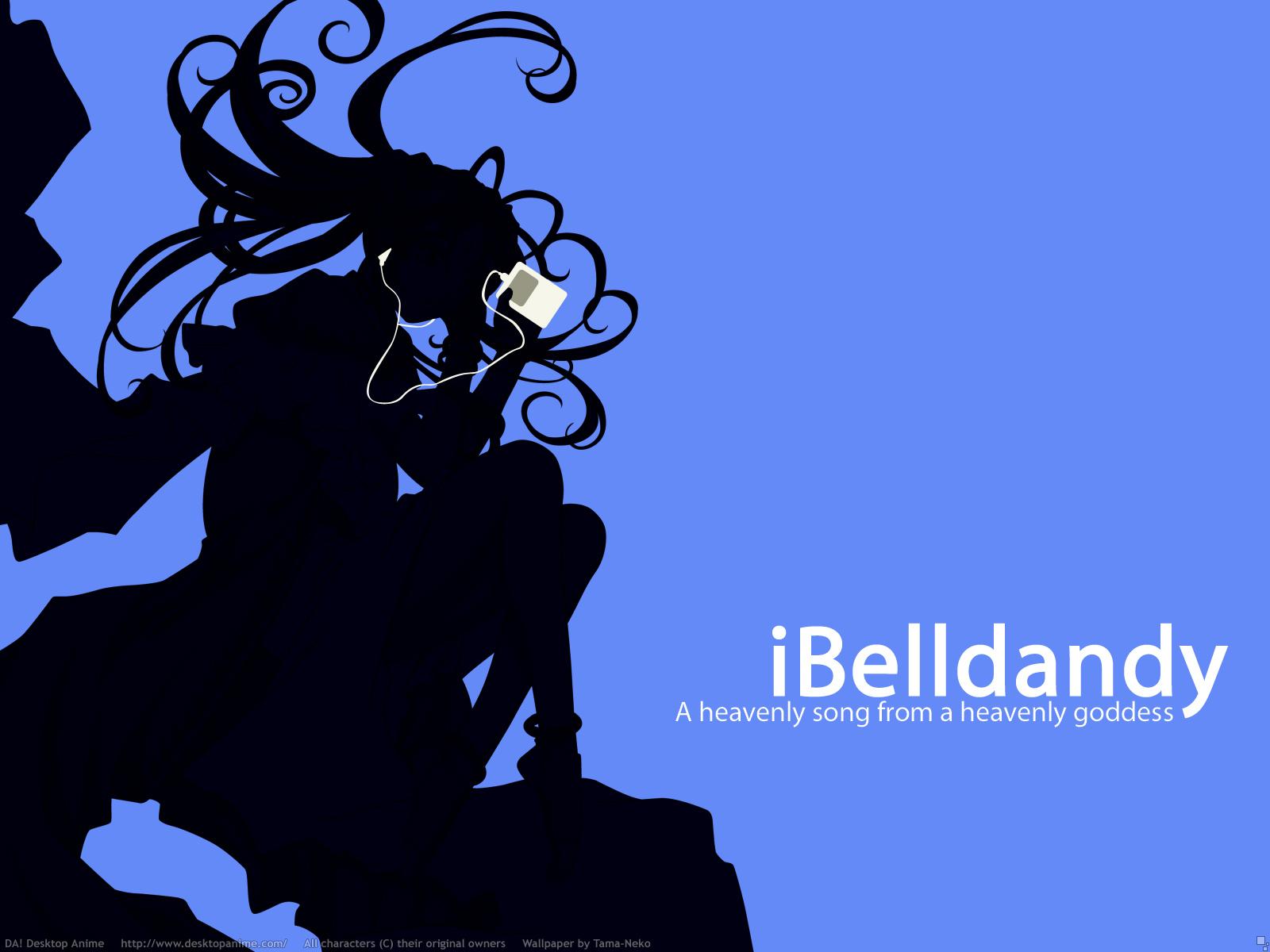 aa_megami-sama belldandy blue ipod polychromatic signed silhouette watermark