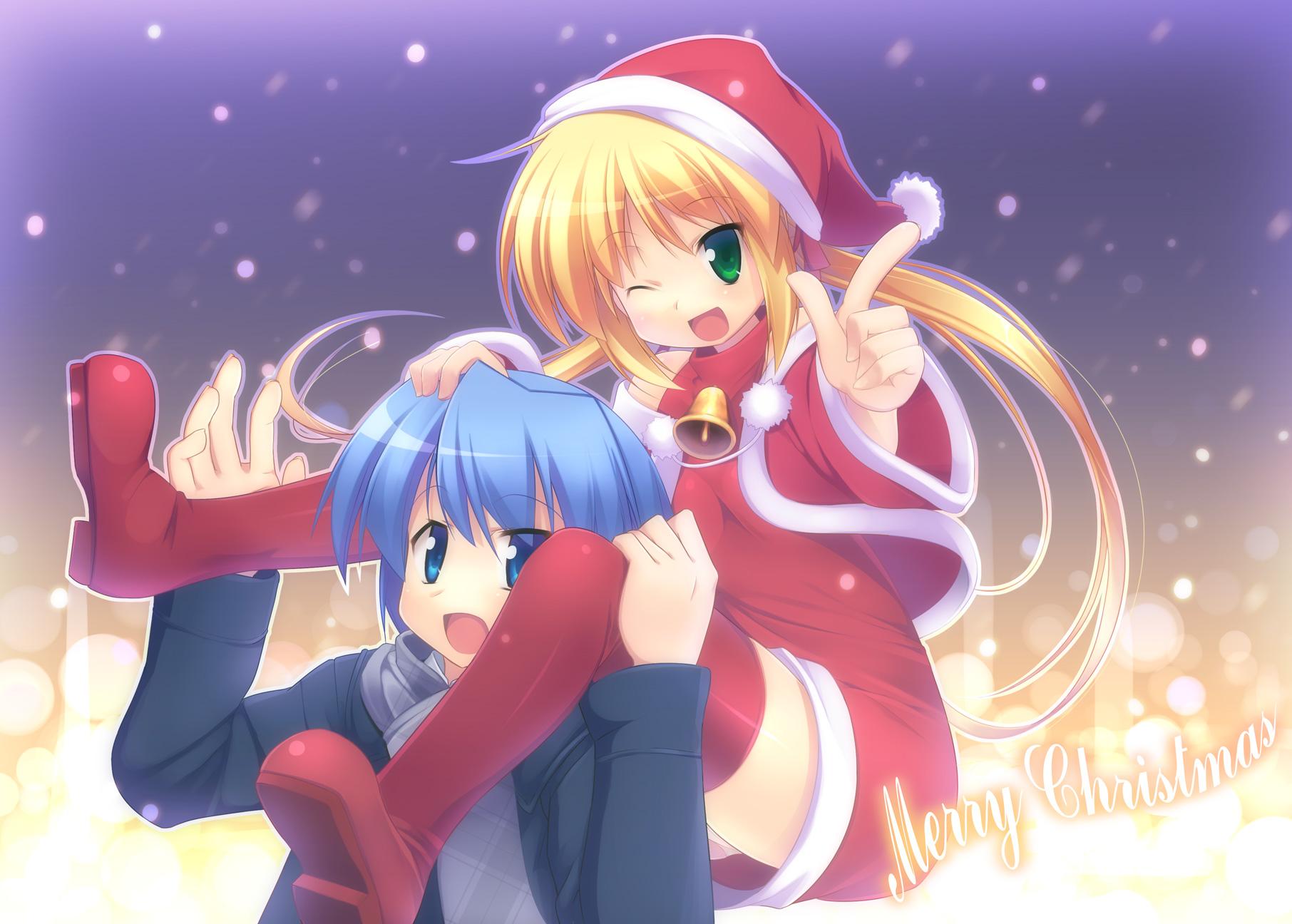 ayasaki_hayate christmas hayate_no_gotoku male sanzenin_nagi