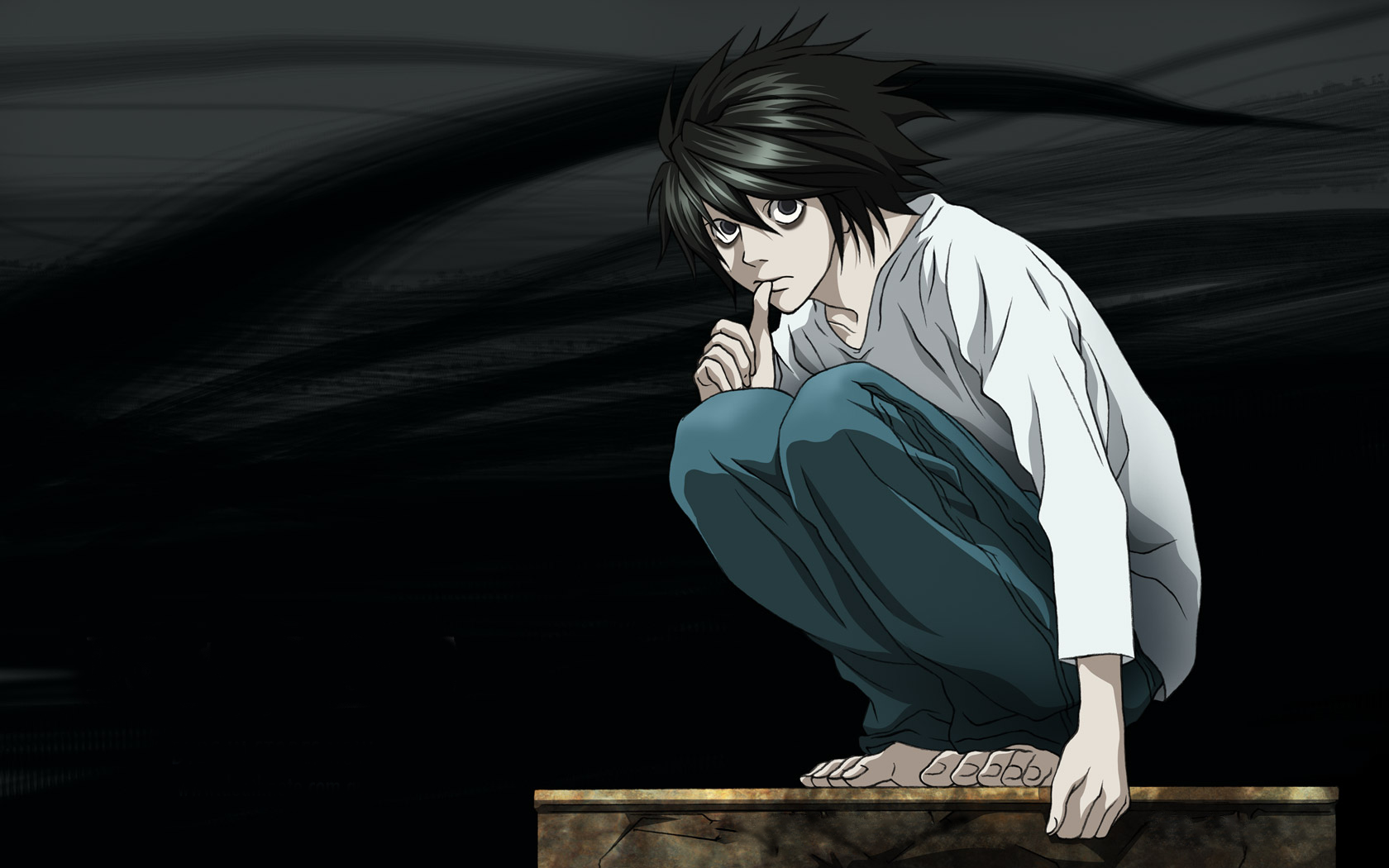 all_male death_note jpeg_artifacts l male